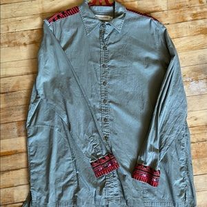 Boho Embroidered Army Tunic